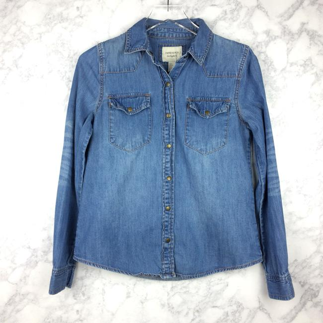 Forever 21 Button Down Shirt Image 5