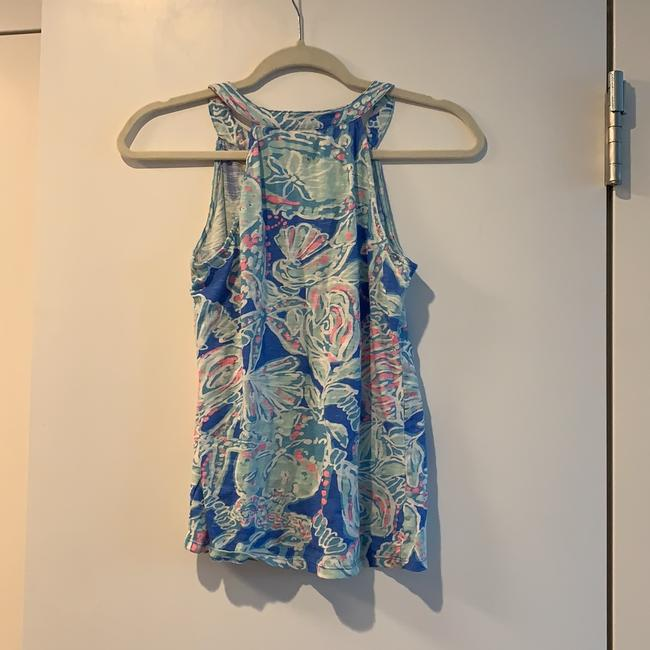 Lilly Pulitzer Top Blue and pink Image 1