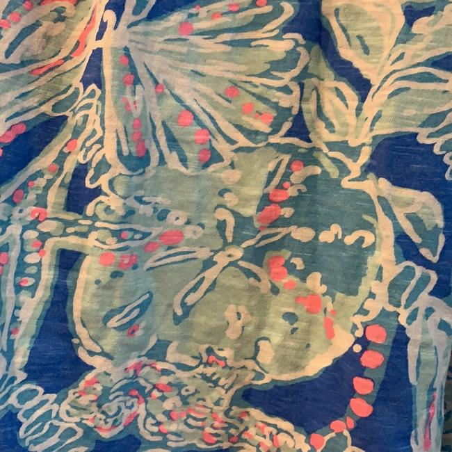 Lilly Pulitzer Top Blue and pink Image 2