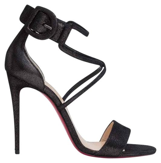 Preload https://img-static.tradesy.com/item/25282206/christian-louboutin-black-choca-100-suede-criss-cross-ankle-strap-stiletto-sandal-heel-pumps-size-eu-0-1-540-540.jpg