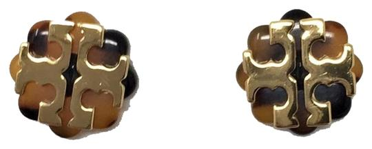 Preload https://img-static.tradesy.com/item/25282247/tory-burch-yellow-and-black-stud-new-limited-tostoise-and-gold-flower-logo-earrings-0-1-540-540.jpg