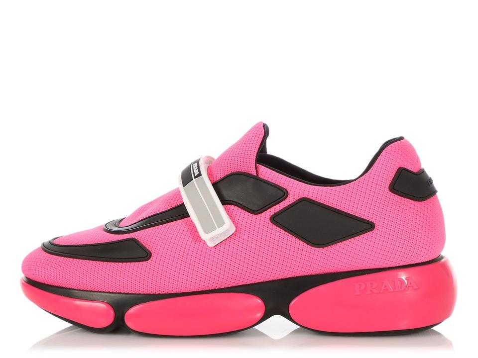 fd9ddd03 Prada Pink **on Hold For Aff** Cloudbust Velcro Sneakers Size EU 38.5  (Approx. US 8.5) Regular (M, B) 39% off retail