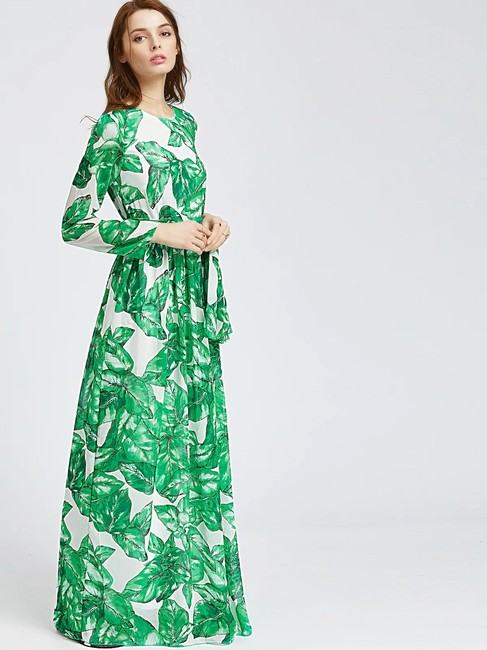 Multicolor Maxi Dress by Christine Summer Maxi Image 3