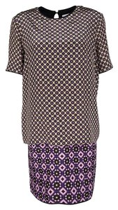 Victoria Beckham short dress Multicolor Silk Cotton on Tradesy