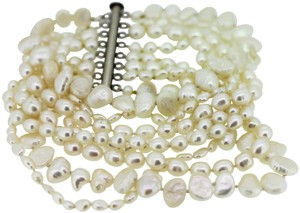Other 8 Strand 2 inches wide pearl bracelet 8