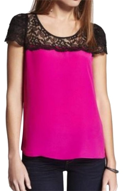 Preload https://img-static.tradesy.com/item/25282558/express-pink-like-lace-shirt-blouse-halter-top-size-0-xs-0-1-650-650.jpg