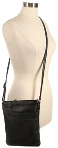 Margot Leather Pebbled Cross Body Bag