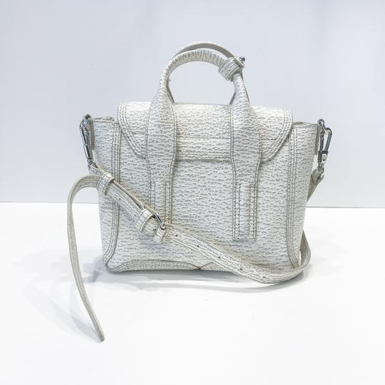 3.1 Phillip Lim Satchel in white and grey pattern Image 1