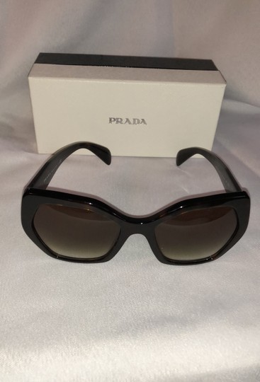 Prada PRADA 56019 LOGO CAT EYE SUNGLASSES Image 4