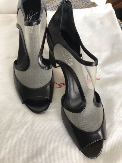 Joan Oloff black Pumps Image 3