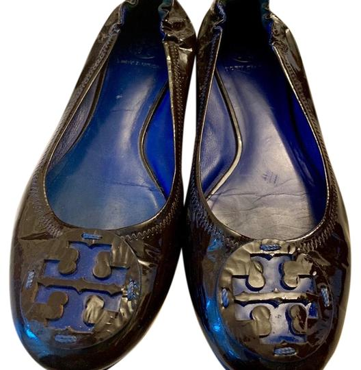 Tory Burch Brown Flats Image 0