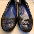 Tory Burch Brown Flats Image 10