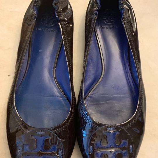 Tory Burch Brown Flats Image 9