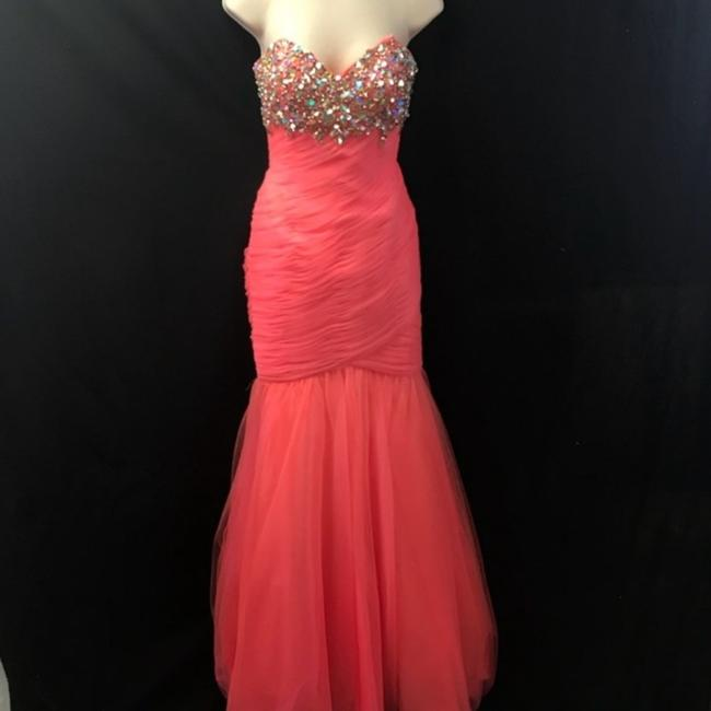 Cassandra Stone Strapless Ball Gown Pageant Dress Image 1