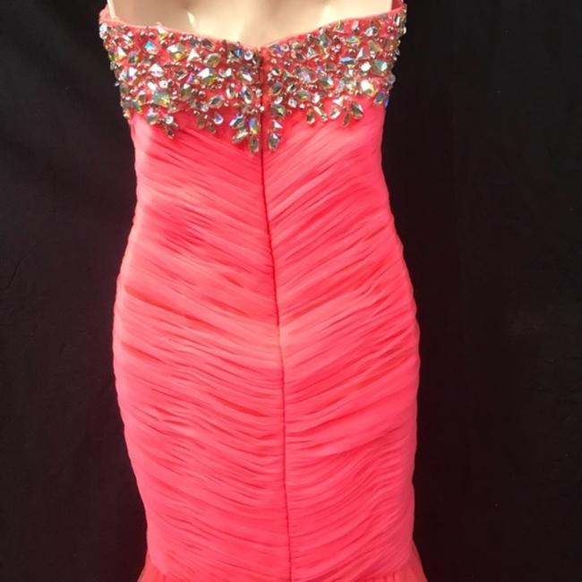 Cassandra Stone Strapless Ball Gown Pageant Dress Image 4