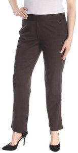 INC International Concepts Office Work Straight Pants brown