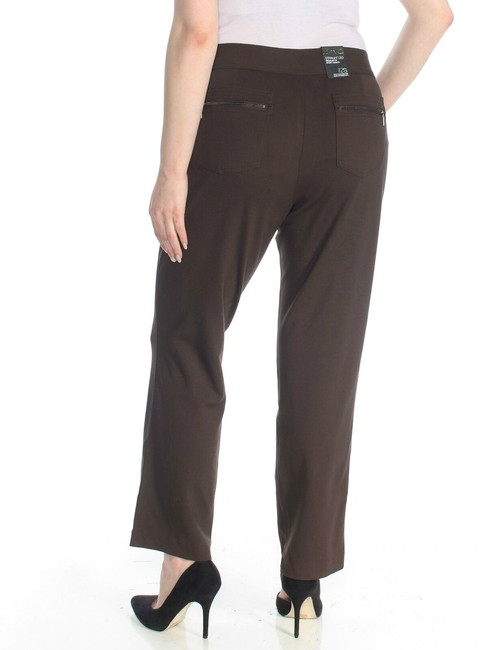INC International Concepts Office Work Straight Pants brown Image 1