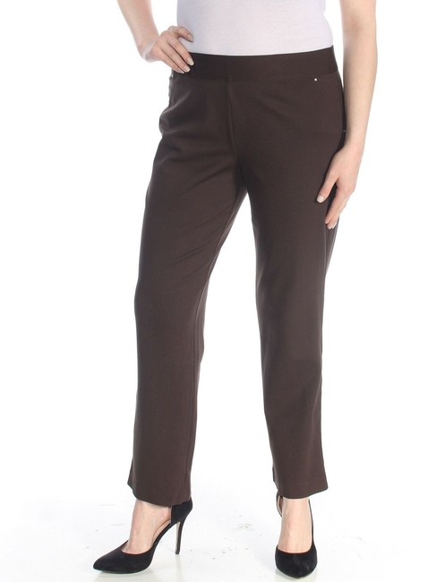 INC International Concepts Office Work Straight Pants brown Image 2
