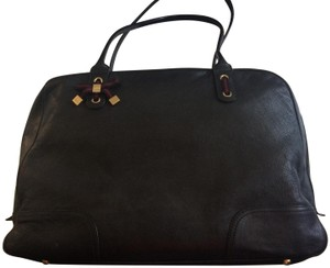f1a2e459ab55 Added to Shopping Bag. Gucci Shoulder Bag. Gucci Zip Top Work Black Nappa  Leather ...