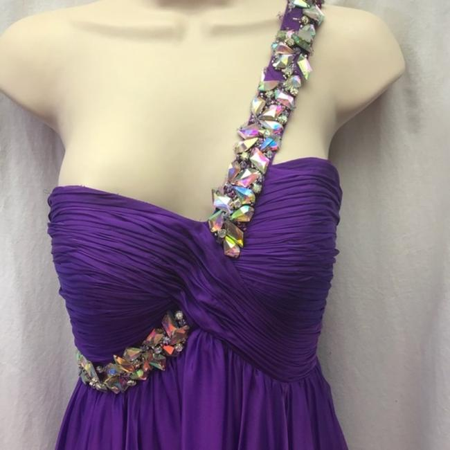 MacDuggal One Shoulder Gown Ball Gown Dress Image 1