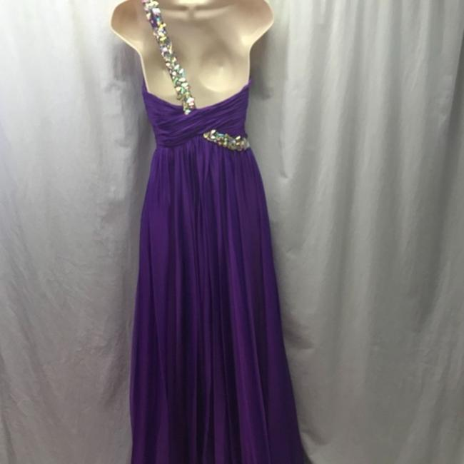 MacDuggal One Shoulder Gown Ball Gown Dress Image 7
