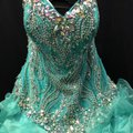 Quinceanera Collection Pageant Ball Gown Strapless Dress Image 6