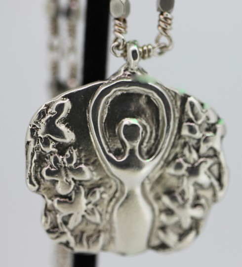 other Sterling Silver Earth Goddess Image 2