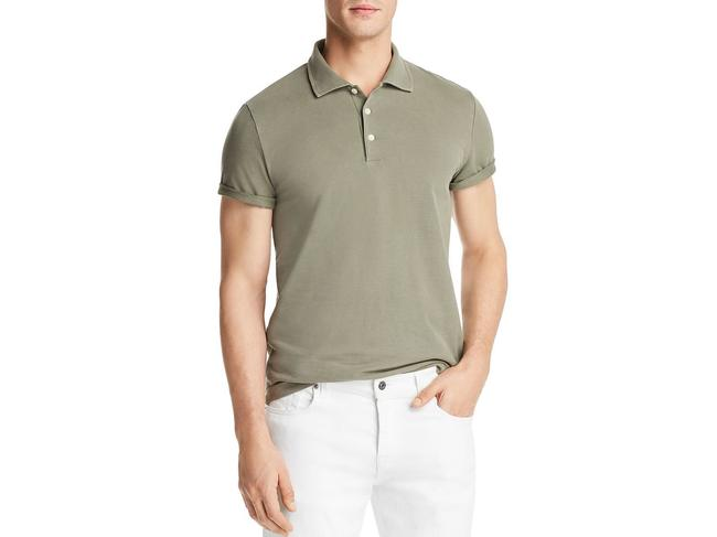 Bloomingdale's Men Polo T Shirt Green Image 1