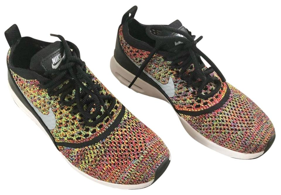 San Francisco ef7cf 16ddf Nike Multicolor Air Max Thea Ultra Flyknit Sneakers Size US 6 Regular (M,  B) 54% off retail