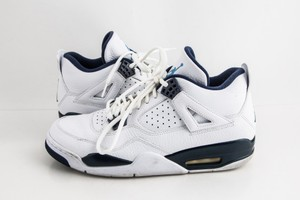Nike Blue Jordan 4 Retro Columbia Shoes