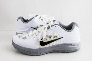 Nike White Lunar Hypergamer Low White/Black Shoes