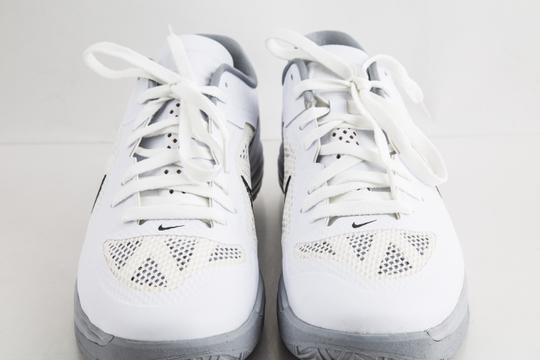 Nike White Lunar Hypergamer Low White/Black Shoes Image 11