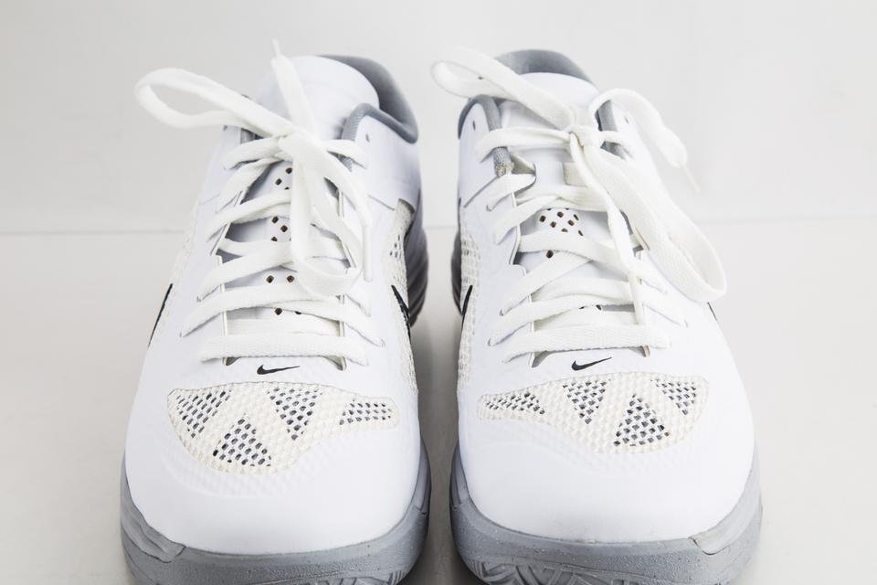 online retailer 75d94 cea26 Nike White Lunar Hypergamer Low White Black Shoes Image 11. 123456789101112