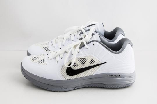 Nike White Lunar Hypergamer Low White/Black Shoes Image 2