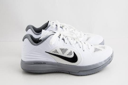 Nike White Lunar Hypergamer Low White/Black Shoes Image 3