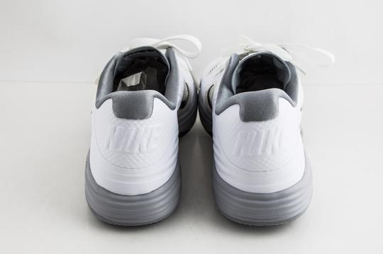 Nike White Lunar Hypergamer Low White/Black Shoes Image 4
