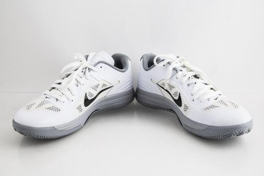 Nike White Lunar Hypergamer Low White/Black Shoes Image 5