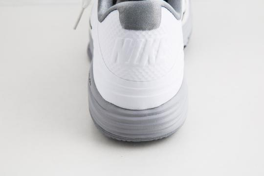 Nike White Lunar Hypergamer Low White/Black Shoes Image 9