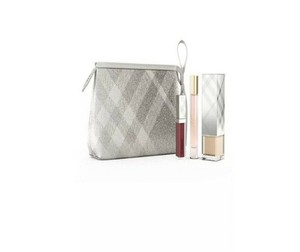 Burberry BNIB, LIMITED EDITION BURBERRY 2017 FESTIVE COSMETIC POUCH