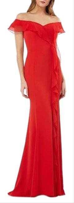 Item - Red Gown Long Formal Dress Size 6 (S)