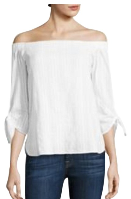 Preload https://img-static.tradesy.com/item/25283131/bailey-44-white-yarrow-off-the-shoulder-cotton-xs-blouse-size-2-xs-0-1-650-650.jpg