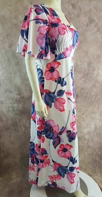 Multi-Color Maxi Dress by Liberty House Image 2