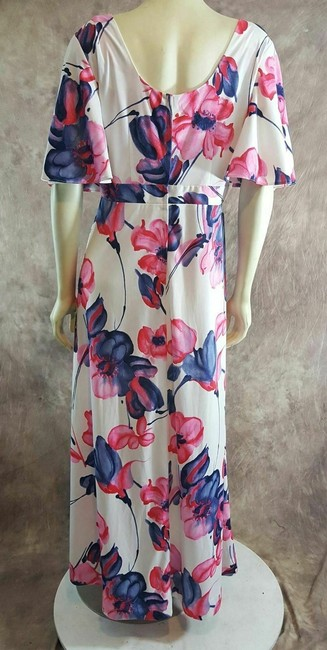 Multi-Color Maxi Dress by Liberty House Image 3