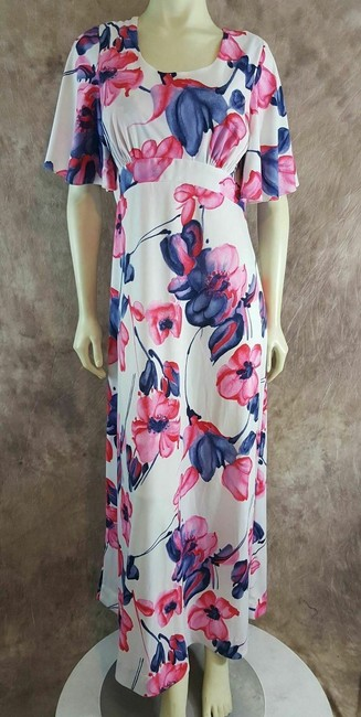 Multi-Color Maxi Dress by Liberty House Image 4