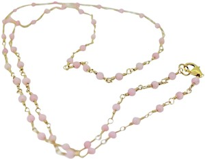 other Gold filled wire wrap with pink coral