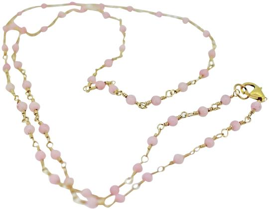 Preload https://img-static.tradesy.com/item/25283238/gold-filled-wire-wrap-with-pink-coral-necklace-0-2-540-540.jpg