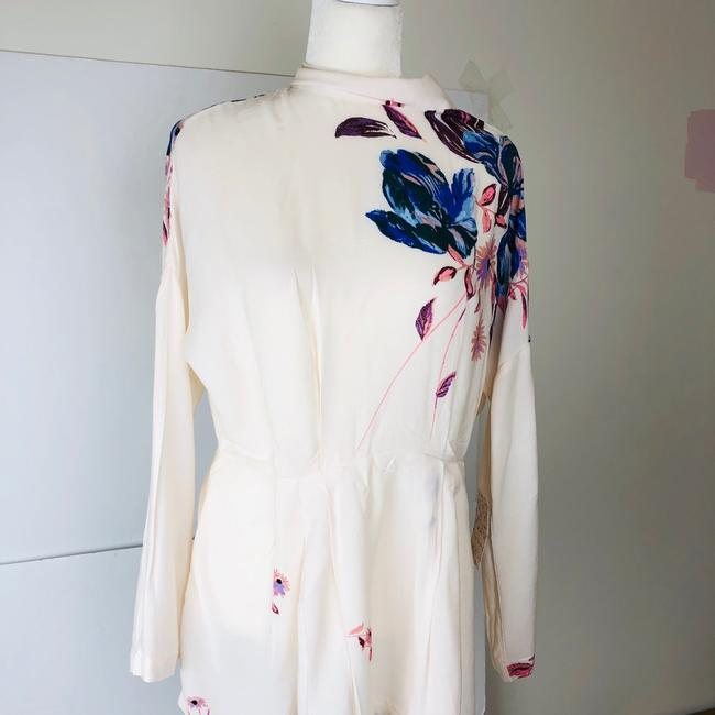 Free People short dress Ivory/pink on Tradesy Image 3