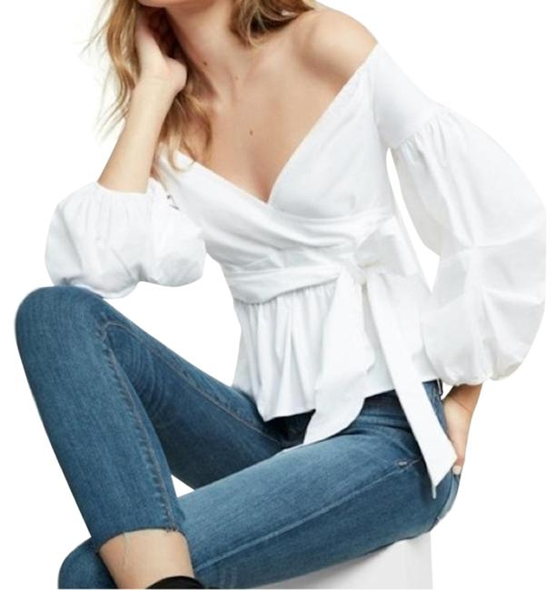 Preload https://img-static.tradesy.com/item/25283334/express-white-new-the-shoulder-puff-shirt-blouse-size-2-xs-0-1-650-650.jpg