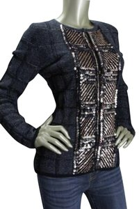 Escada Knitted Sequined Blazer Cardigan