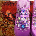 100% AUTHENTIC UGG AUSTRALIA BOOTS AUTHORS WORK SWAROVSKI CRYSTALS SIZE US 8 EU 39 Pink Boots Image 7